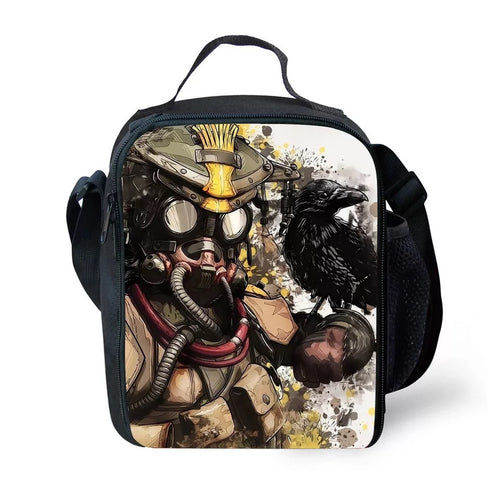 Game Apex Legends #4 Lunch Box Bag Lunch Tote For Kids
