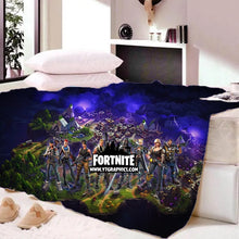 Load image into Gallery viewer, Game Fortnite Sherpa Fleece Bedding Blanket Game Skin Xbox