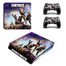 Load image into Gallery viewer, Game Fortnite Skin For PS4 Slim Console +2Pcs Controller Protective