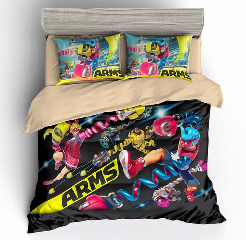 Game ARMS Bedding Set Duvet Cover For Kids