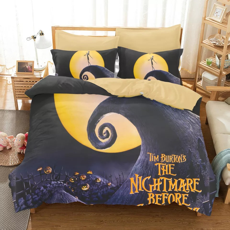 The Nightmare Before Christmas Duvet Cover Bedding Set