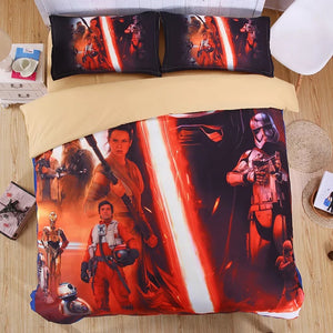 Star Wars Duvet Cover Bedding Set For Kids