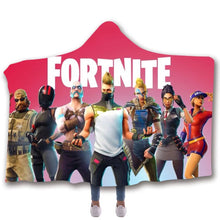 Load image into Gallery viewer, Game Fortnite  T-Shirt  Hoodie Hooded Comfort Blanket Game Skin Xbox
