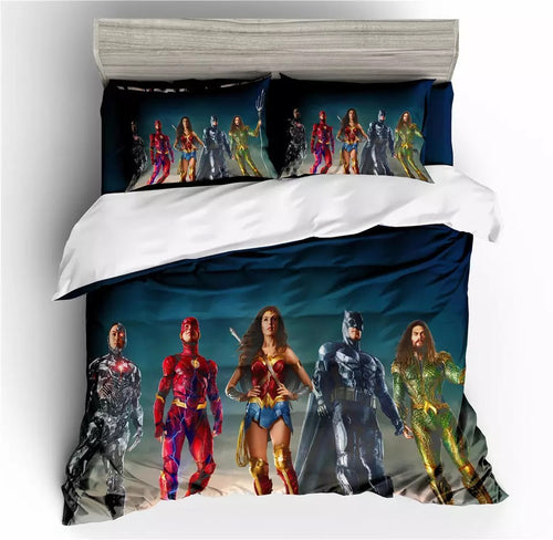 Justice League Aquaman #5 Bedding Set Duvet Cover Set  Pillow Cover Bedroom Set Bed Linen