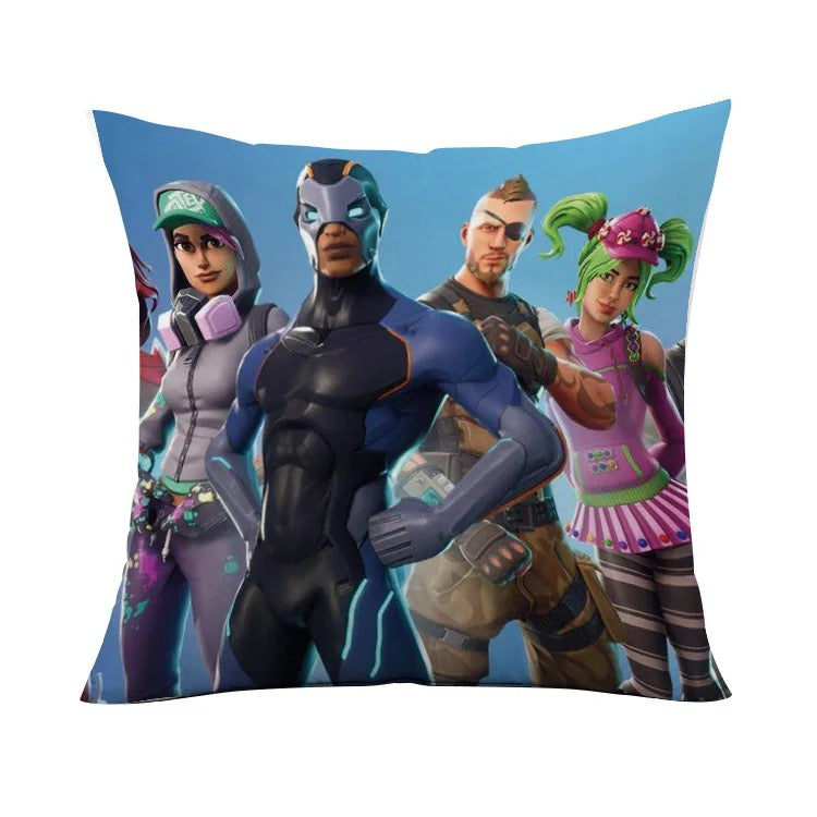 Game Fortnite Battle Royale 3D Printing Decorative Linen Cushion Cover Sofa Chair Throw Pillow Case