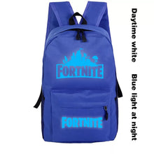 Load image into Gallery viewer, Fortnite Backpack Schoolbag Unisex Cosplay Prop