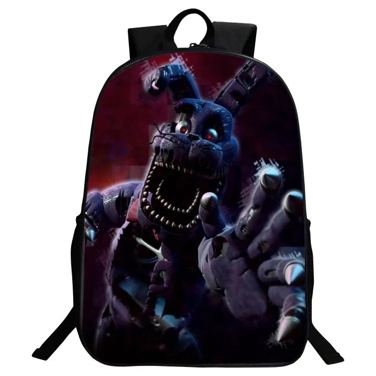 Five Nights at Freddy's BACKPACK FNAF New School Bag Group Sports Game Bags