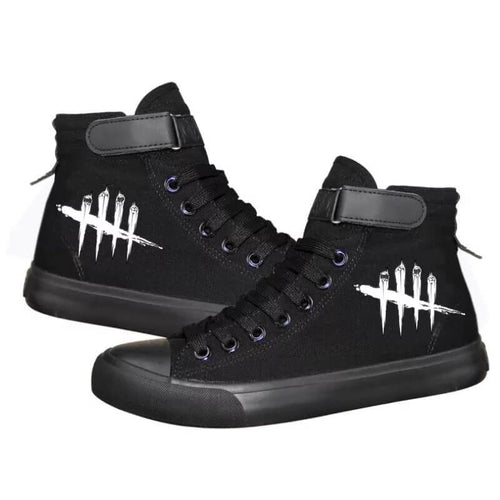 Game Dead By Daylight #1 Cosplay Shoes High Top Canvas Sneakers