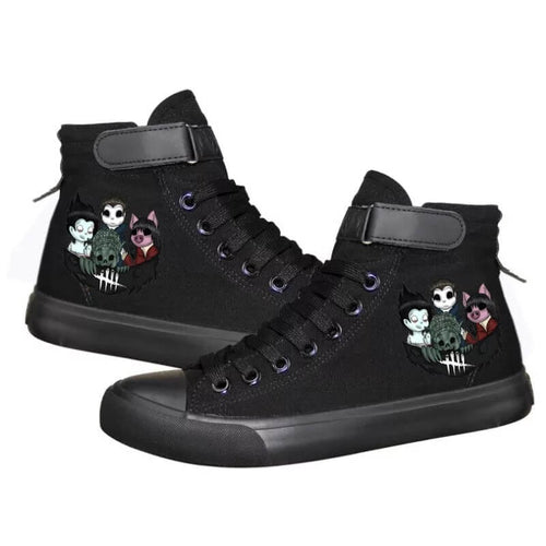 Game Dead By Daylight #2 Cosplay Shoes High Top Canvas Sneakers