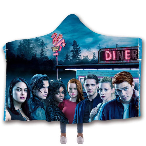 Riverdale Cosplay Blankets Travel Coral Fleece Soft Custom Flannel Blanket For Sofa/Bed/Car Portable Throw