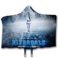 Load image into Gallery viewer, Riverdale Cosplay Blankets Travel Coral Fleece Soft Custom Flannel Blanket For Sofa/Bed/Car Portable Throw