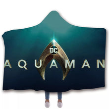 Load image into Gallery viewer, Aquaman Arthur Curry Blankets Travel Coral Fleece Soft Custom Flannel Blanket For Sofa/Bed/Car Portable Throw