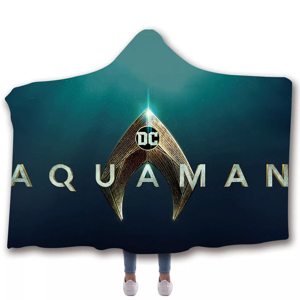 Aquaman Arthur Curry Blankets Travel Coral Fleece Soft Custom Flannel Blanket For Sofa/Bed/Car Portable Throw