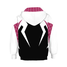 Load image into Gallery viewer, Spider-Man: Into the Spider-Verse Spider-Gwen Hoodie Sweater For Kids