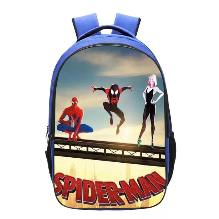 Spider-Man Into the Spider-Verse Miles Morales Backpack School Sports Bag