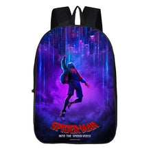 Load image into Gallery viewer, Spider-Man Into the Spider-Verse Miles Morales Backpack School Sports Bag