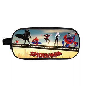 Spider-Man Into the Spider-Verse Miles Morales School Stationery Boys Pen Bag Pencil Case