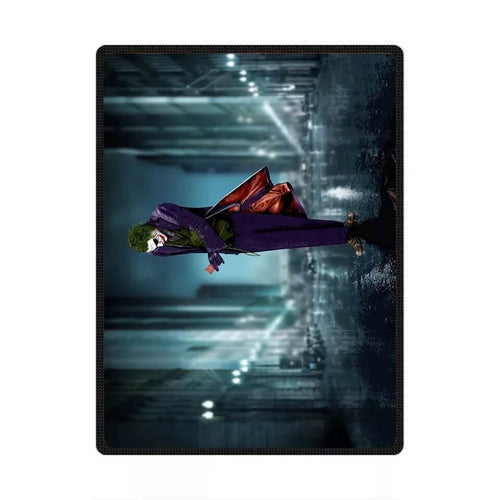 DC Comics Suicide Squad The Joker #4 Cosplay Velvet Plush Throw Blanket Super Soft and Cozy Fleece Blanket
