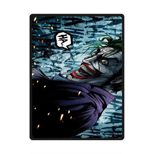 DC Comics Suicide Squad The Joker #5 Cosplay Velvet Plush Throw Blanket Super Soft and Cozy Fleece Blanket