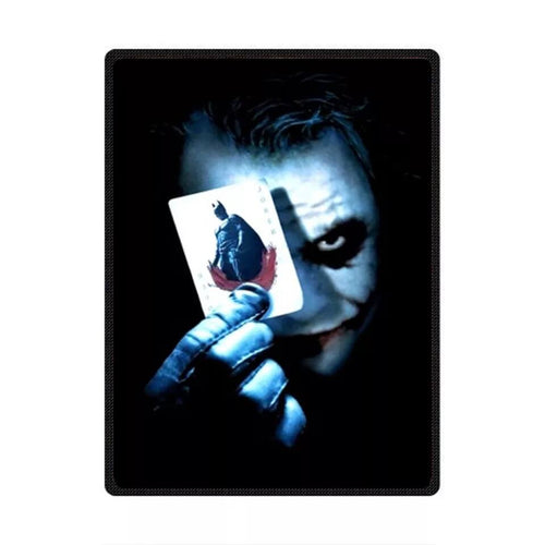 DC Comics Suicide Squad Harley Quinn The Joker #7 Cosplay Velvet Plush Throw Blanket Super Soft and Cozy Fleece Blanket