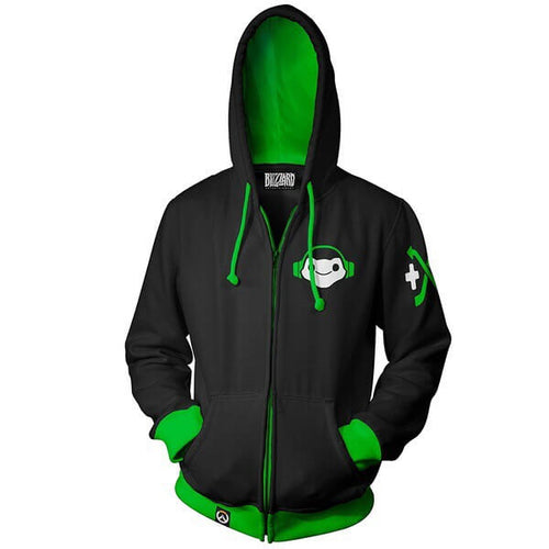 Overwatch Lucio Cosplay Hoodies Sweatshirts Sweater Jacket Coat