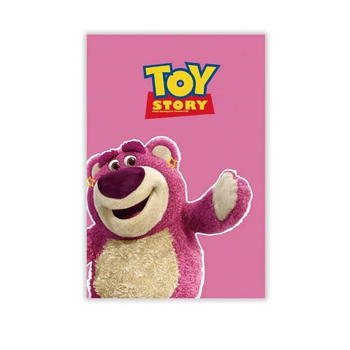 Toy Story Lots-O'-Huggin Bear #4 Blackout Curtains For Window Treatment Set For Living Room Bedroom