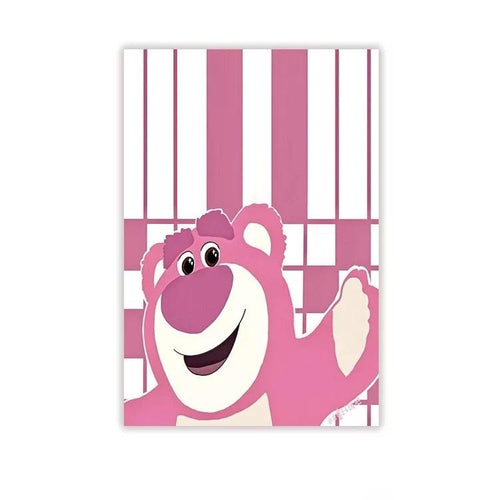 Toy Story Lots-O'-Huggin Bear #5 Blackout Curtains For Window Treatment Set For Living Room Bedroom
