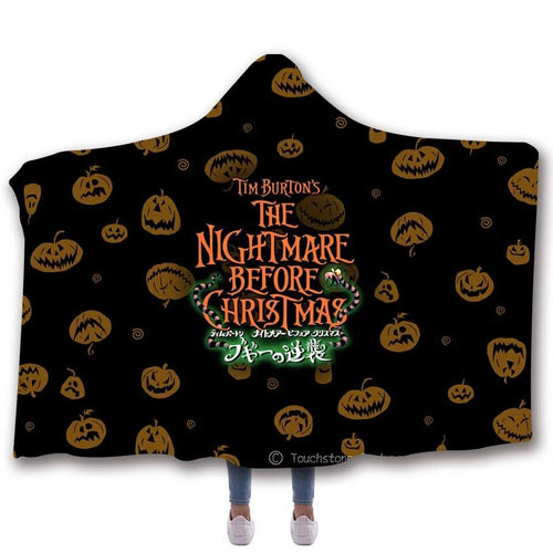 The Nightmare Before Christmas #2 Cosplay Blankets Travel Coral Fleece Soft Throw