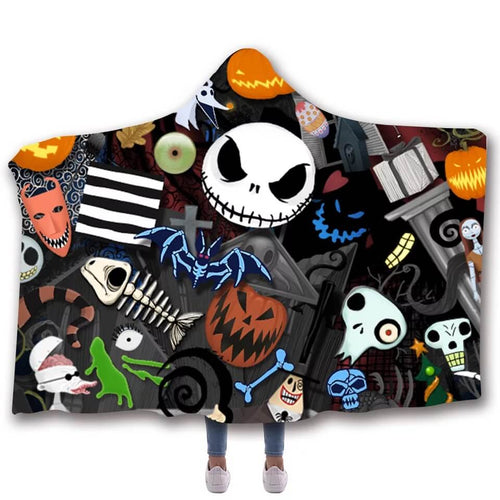 The Nightmare Before Christmas #5 Cosplay Blankets Travel Coral Fleece Soft Throw