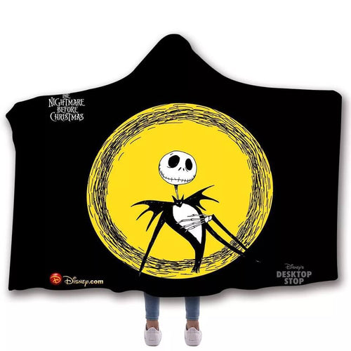 The Nightmare Before Christmas #6 Cosplay Blankets Travel Coral Fleece Soft Throw