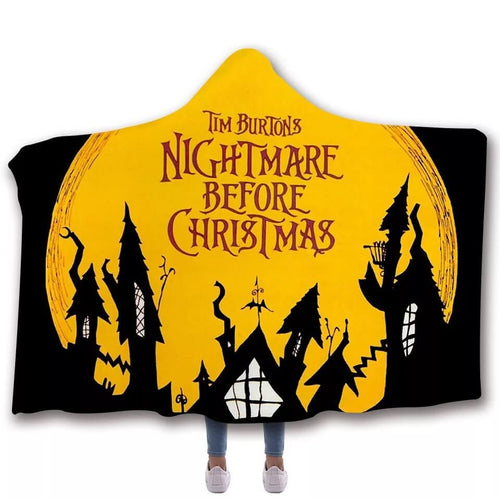 The Nightmare Before Christmas #11 Cosplay Blankets Travel Coral Fleece Soft Throw