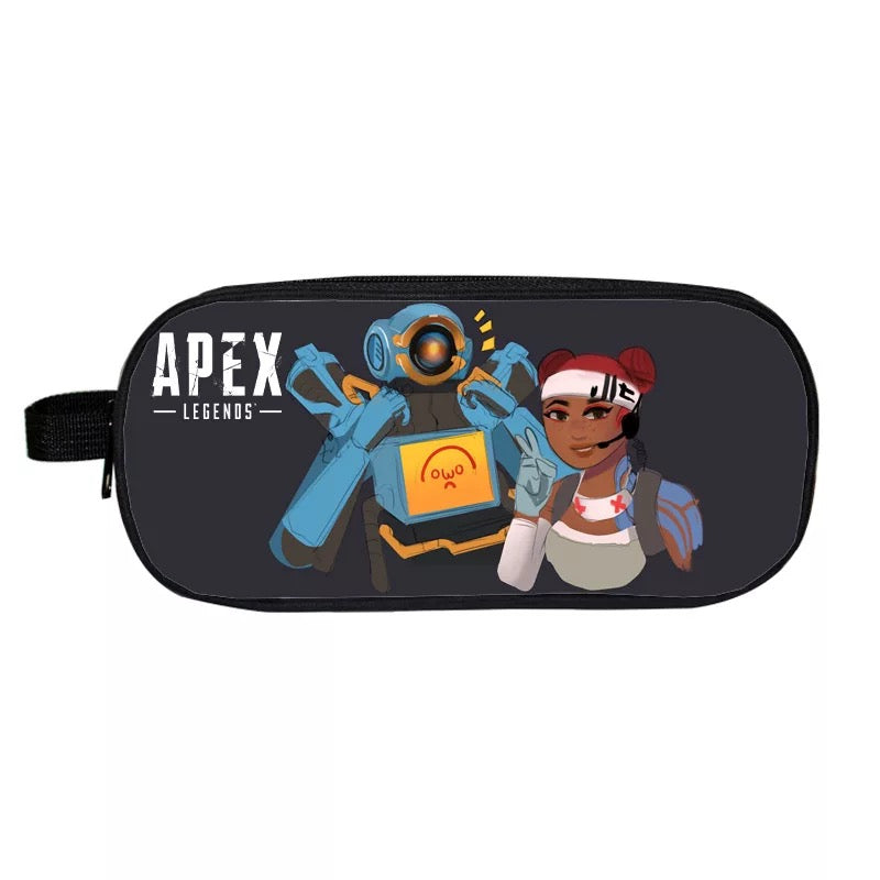 Game Apex Legends Lifeline School Stationery Boys Pen Bag Print Pencil Case