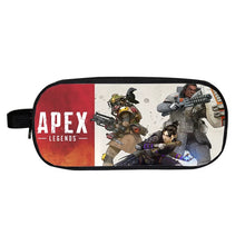Load image into Gallery viewer, Game Apex Legends Bloodhound Gibraltar Wraith School Stationery Boys Pen Bag Print Pencil Case
