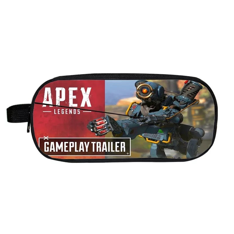 Game Apex Legends Pathfinder School Stationery Boys Pen Bag Print Pencil Case