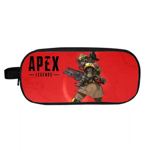Game Apex Legends Bloodhound School Stationery Boys Pen Bag Print Pencil Case