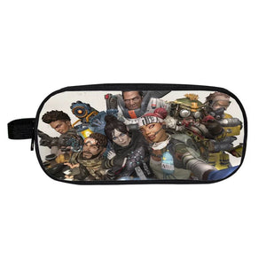 Game Apex Legends School Stationery Boys Pen Bag Print Pencil Case