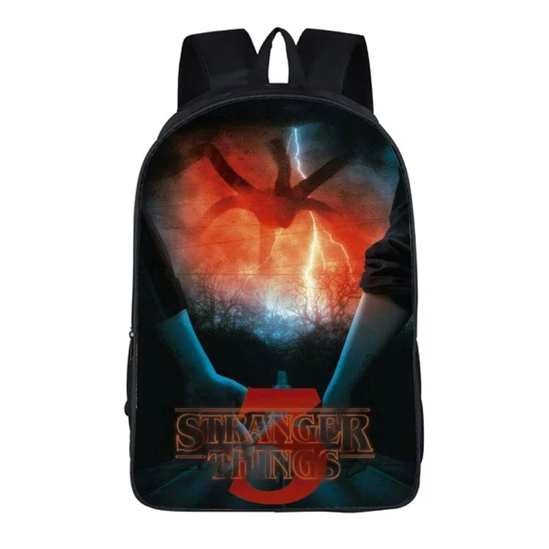 Stranger Things 3D Printed Backpack Schoolbag For Kids