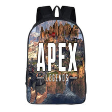 Load image into Gallery viewer, Game Apex Legends Backpack School Supplies Satchel Casual Book Bag School Bag for Kids Boy Girls Backpack Junior Bag