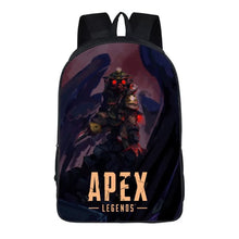 Load image into Gallery viewer, Game Apex Legends Bloodhound Backpack School Supplies Satchel Casual Book Bag School Bag for Kids Boy Girls Backpack Junior Bag