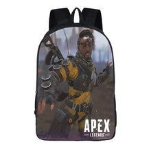 Load image into Gallery viewer, Game Apex Legends Mirage Backpack School Supplies Satchel Casual Book Bag School Bag for Kids Boy Girls Backpack Junior Bag