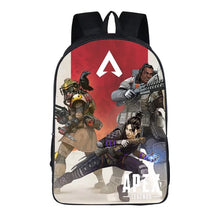 Load image into Gallery viewer, Game Apex Legends Bloodhound Gibraltar Wraith Backpack School Supplies Satchel Casual Book Bag School Bag for Kids Boy Girls Backpack Junior Bag