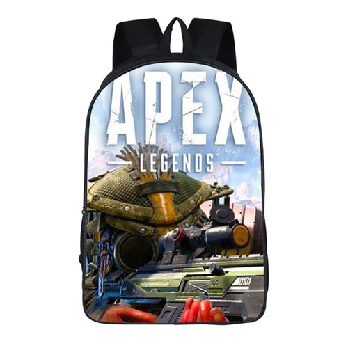 Game Apex Legends Bloodhound Backpack School Supplies Satchel Casual Book Bag School Bag for Kids Boy Girls Backpack Junior Bag