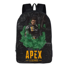 Load image into Gallery viewer, Game Apex Legends Bangalore Backpack School Supplies Satchel Casual Book Bag School Bag for Kids Boy Girls Backpack Junior Bag