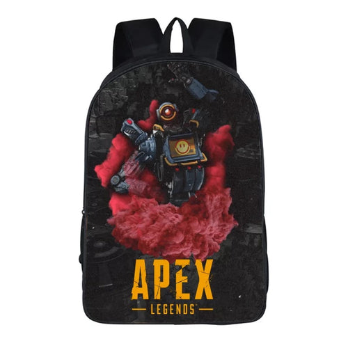 Game Apex Legends Pathfinder Backpack School Supplies Satchel Casual Book Bag School Bag for Kids Boy Girls Backpack Junior Bag
