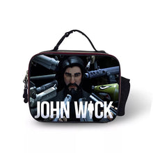 Load image into Gallery viewer, Fortnite The Reaper John Wick Portable Insulated Lunch Box School Carry Tote Storage Picnic Bag Case For Boy Kids
