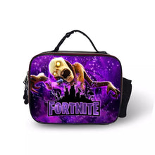 Load image into Gallery viewer, Fortnite Skull Portable Insulated Lunch Box School Carry Tote Storage Picnic Bag Case For Boy Kids