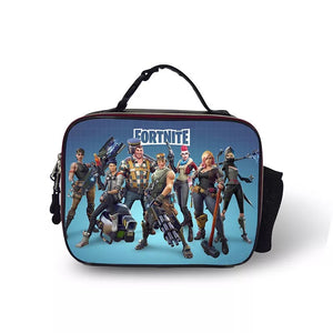 Fortnite Portable Insulated Lunch Box School Carry Tote Storage Picnic Bag  Case For Boy Kids d2542bcac1e28