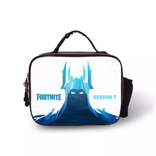 Load image into Gallery viewer, Fortnite Season 7 Portable Insulated Lunch Box School Carry Tote Storage Picnic Bag Case For Boy Kids