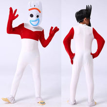 Load image into Gallery viewer, 2019 Toy Story Forky Jumpsuits Uniform Halloween Cosplay Costume For Kids Adults