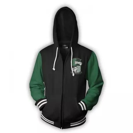 Harry Potter Slytherin Men Women Hoodie Sweatshirt Sweater Zipper Jacket Coat